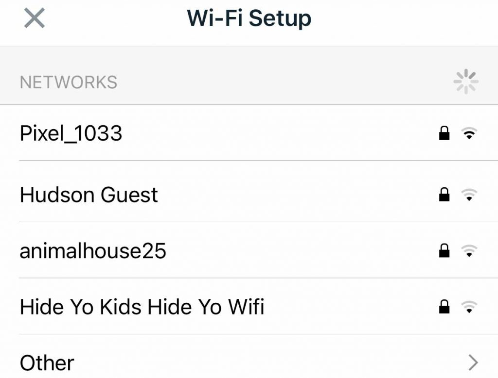 Fitbit app use personal hotspot as WiFi network