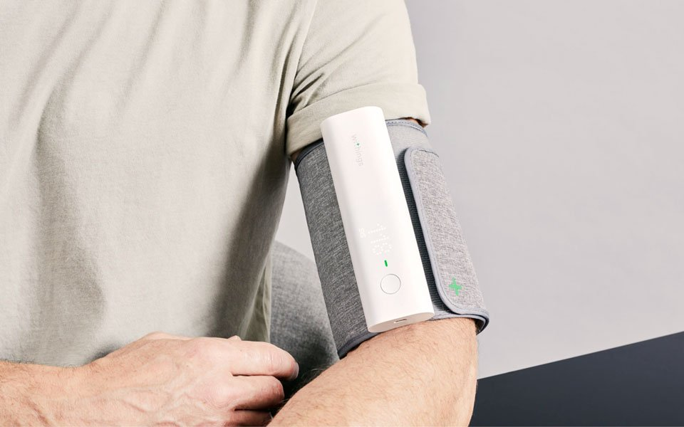 Withings BPM Connect smart blood pressure monitor with apps for Android and Apple devices