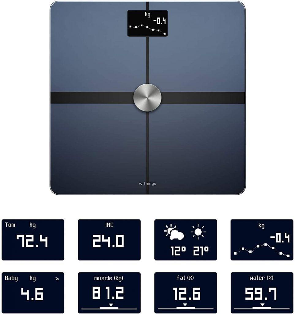 Samsung Health compatible scales