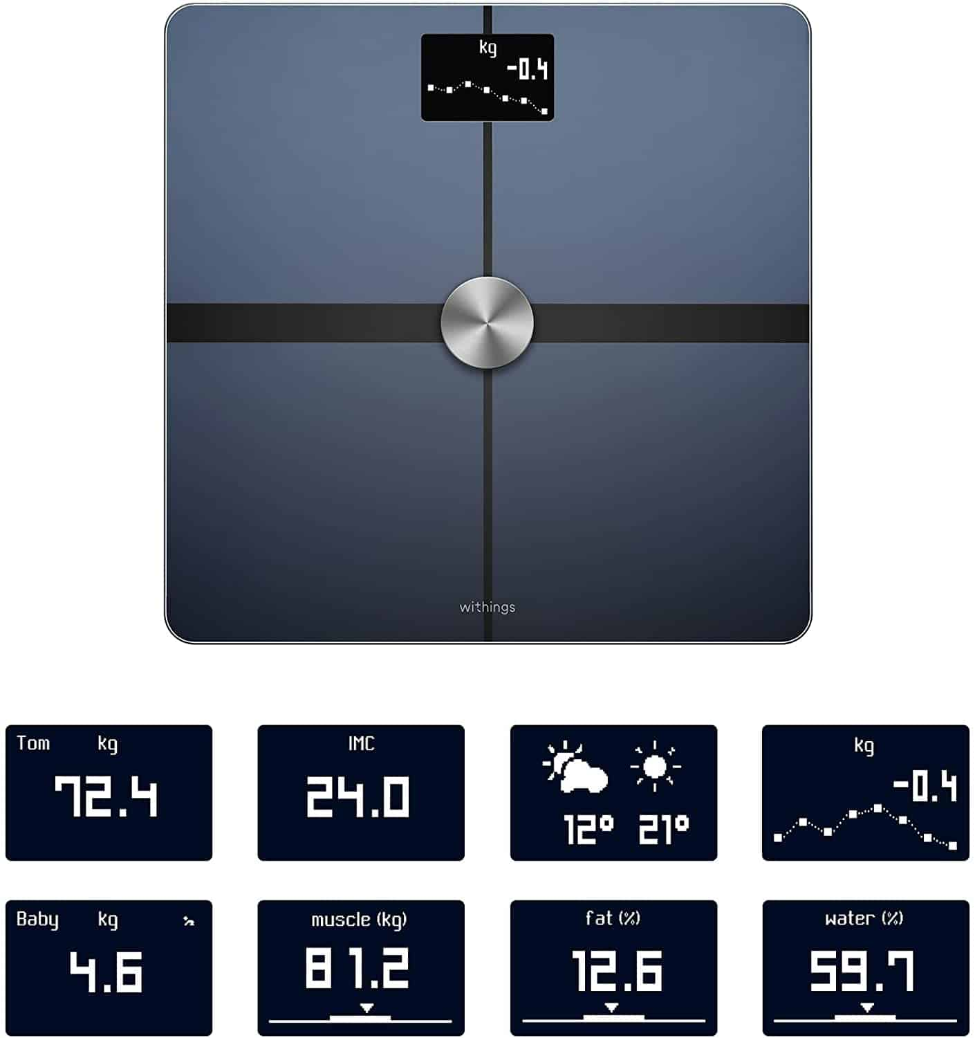 Top 3 Samsung Health Compatible Scales Myhealthyapple