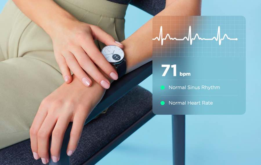 Withings Scanwatch sleep monitoring
