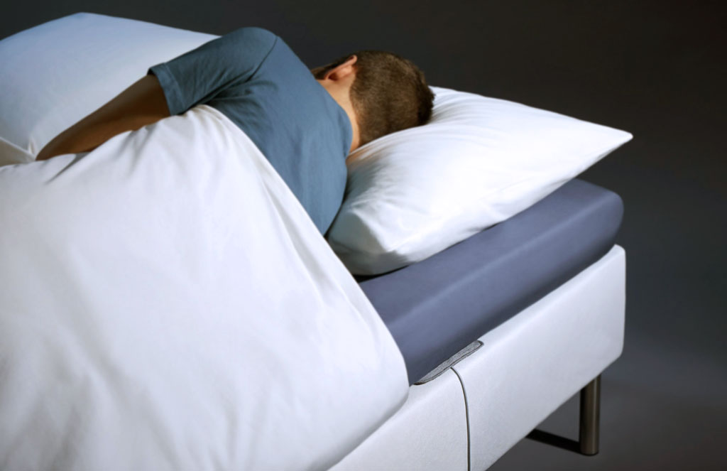 sleep tracking mat by Withings