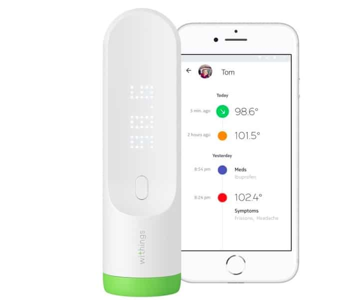 Withings Smart contactless Thermometer