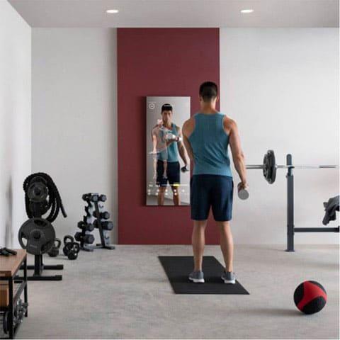 Mirror workout mirror