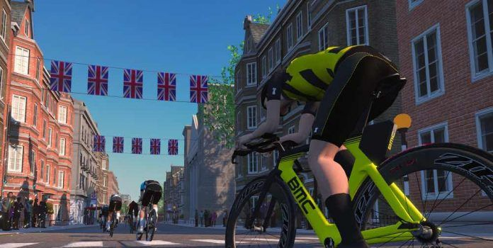 Zwift pro tri race series