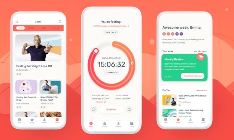 Zero Fasting Tracker