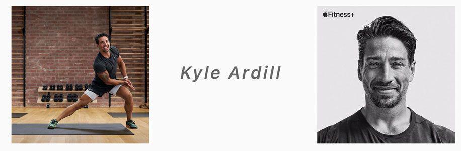 apple fitness+ trainer Kyle Ardill
