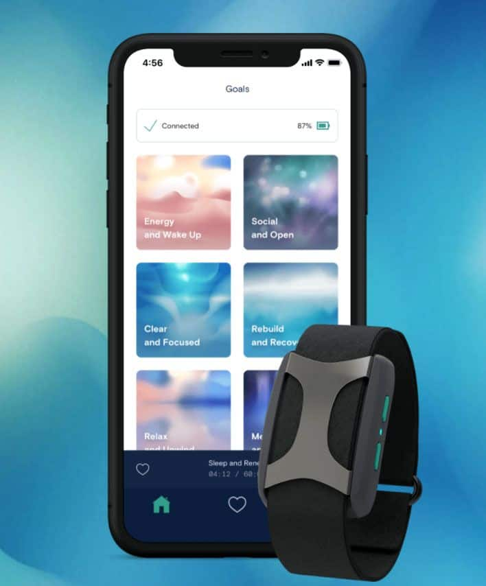 app and Apollo device for HRV improvement
