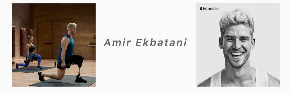 Amir Ekbatani apple fitness+ trainer