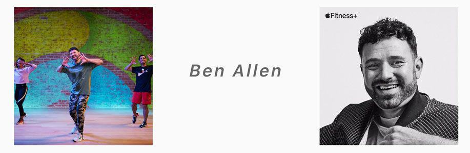 Ben Allen apple fitness+ trainer
