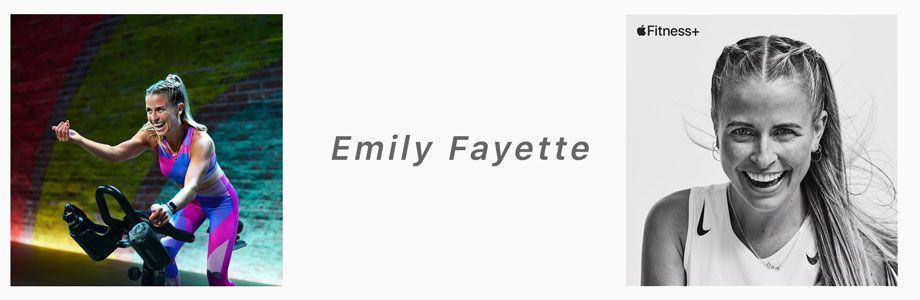 Emily Fayette apple fitness+ trainer