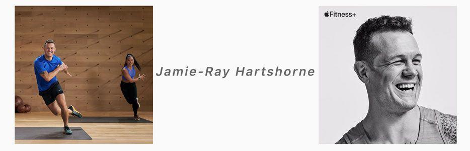 Jamie-Ray Hartshorne apple fitness+ trainer