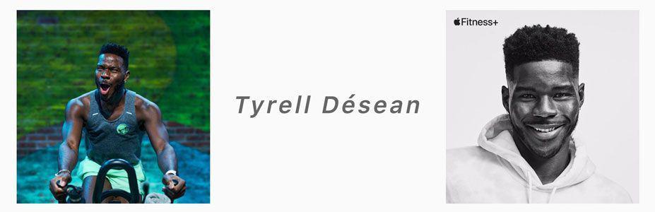 Tyrell Desean apple fitness+ trainer