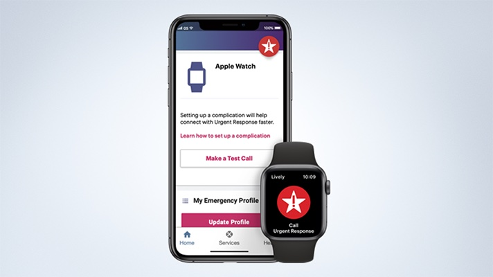lively app from best buy for apple watch
