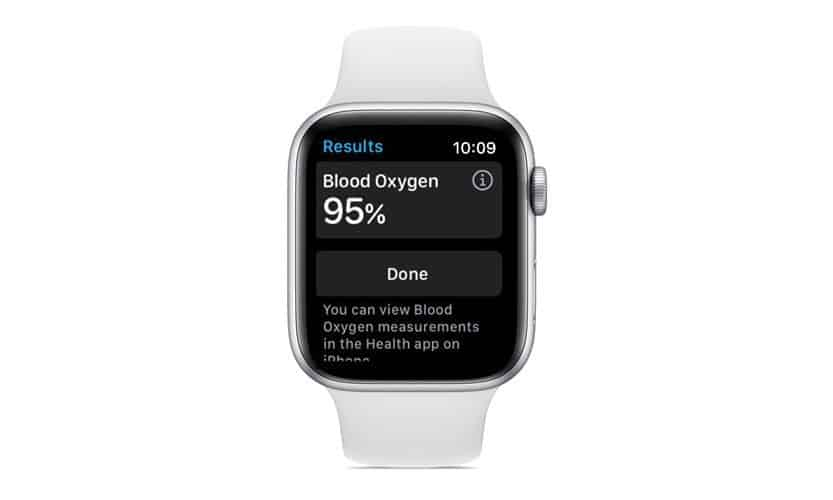 save blood app results on apple watch to health app