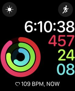 heart rate complication apple watch