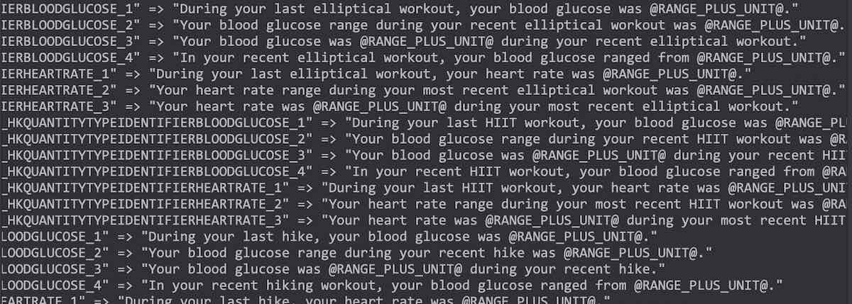 iOS 15 Blood Glucose monitoring during workouts