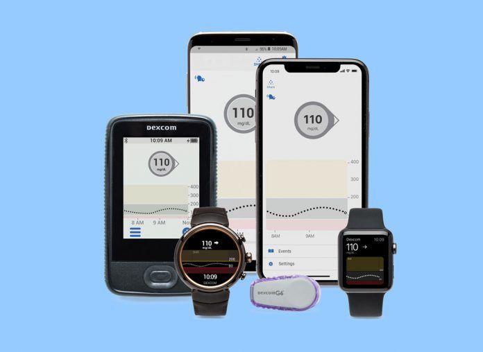 Dexcom G6 diabetes sensor system