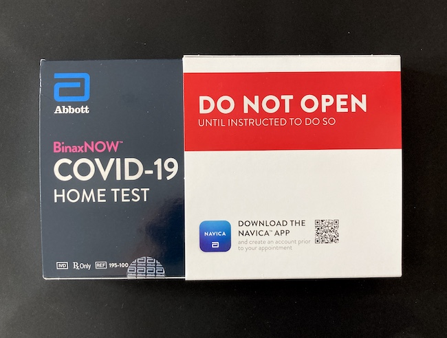 Navica at home covid-19 test kit