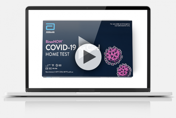 covid-19 home test from emed