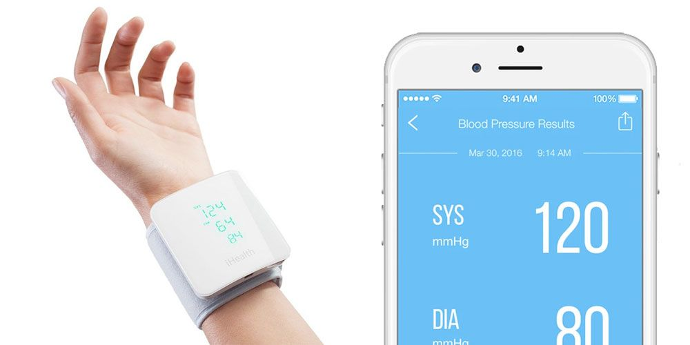 iHealth View Wireless Blood Pressure Monitor