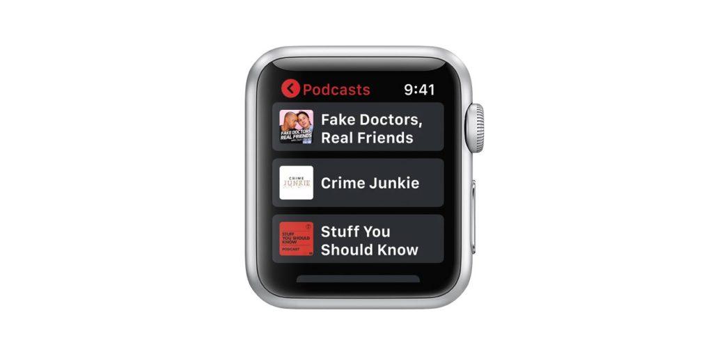 apple watch iHeart app