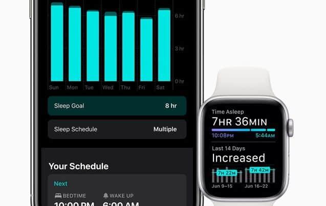 Sleep monitoring on iOS 14 AND WATCHos 7