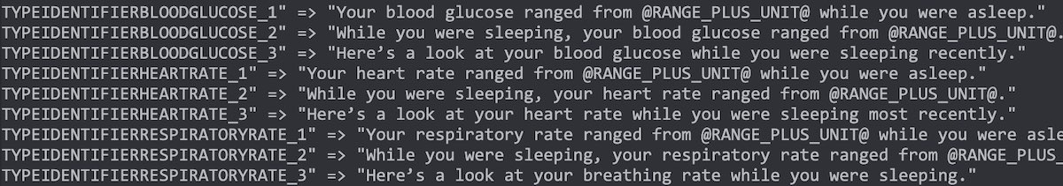 Blood Glucose Trends during sleep on iOS 15