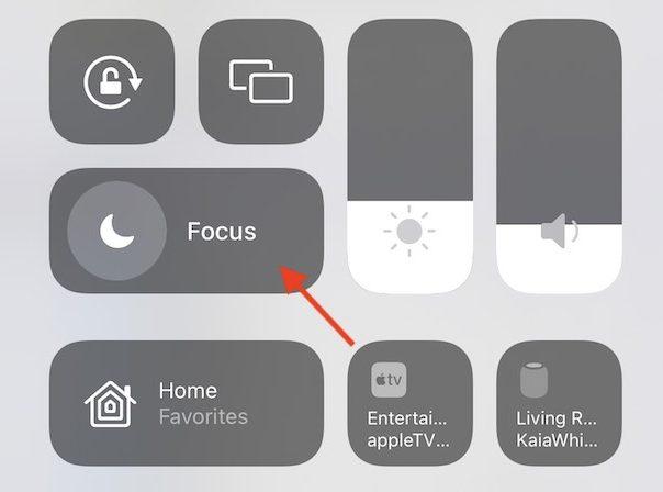iOS 15 Focus for app notifications