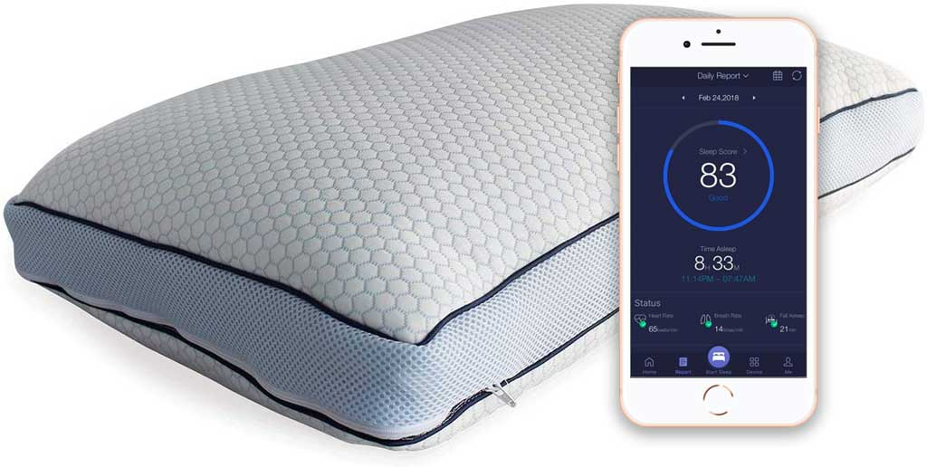 iSense Smart adjustable pillow