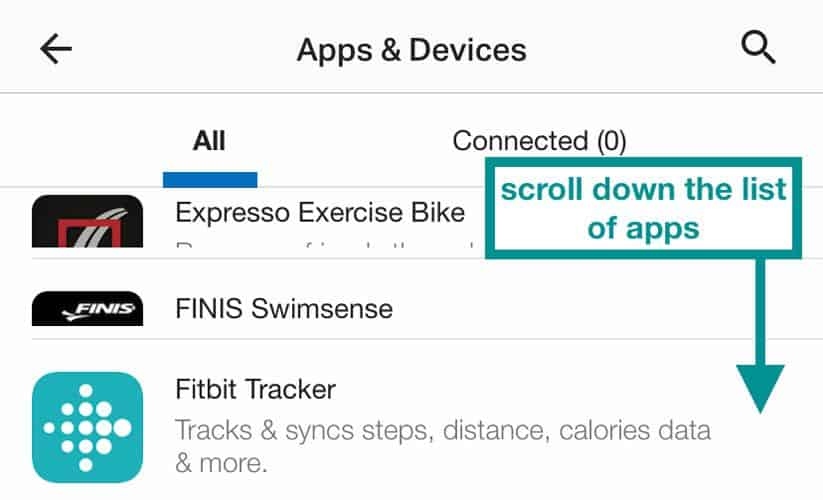 connect Fitbit to MyFitnessPal using the MFP app