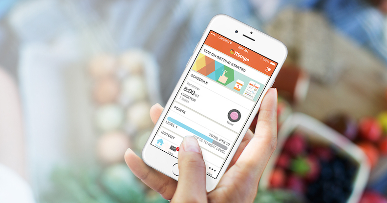 mango health pill reminder app iPhone