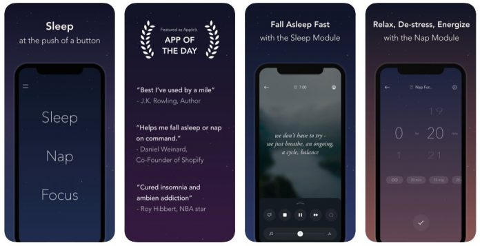New updates to pzizz sleep app