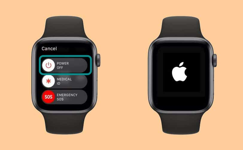how to restart the apple watch (not forced restart)