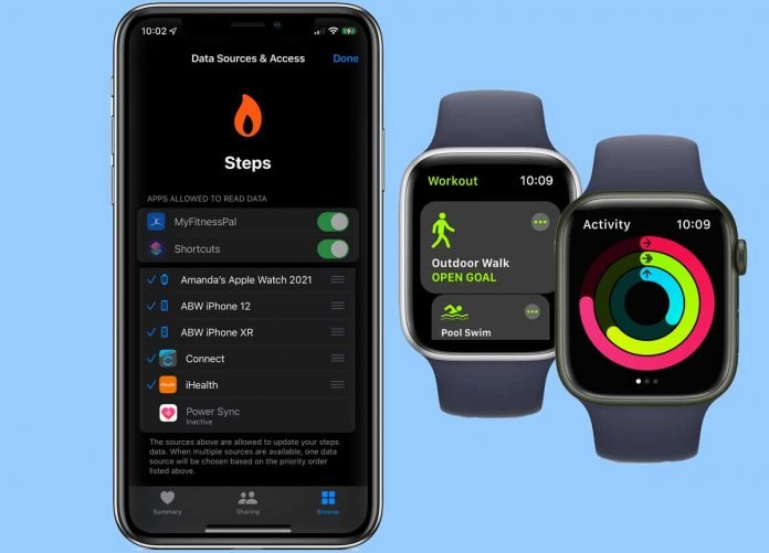How you set device priority for calculating steps and other activity on iPhone and Apple Watch