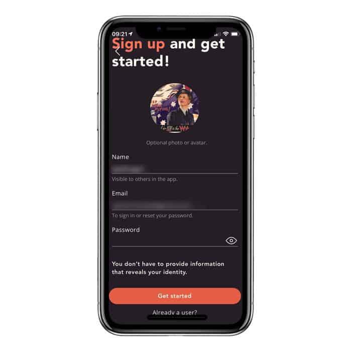 29k app sign up and get started