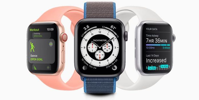 watchOS 7 health and fitness