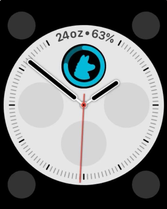 waterllama apple watch complication
