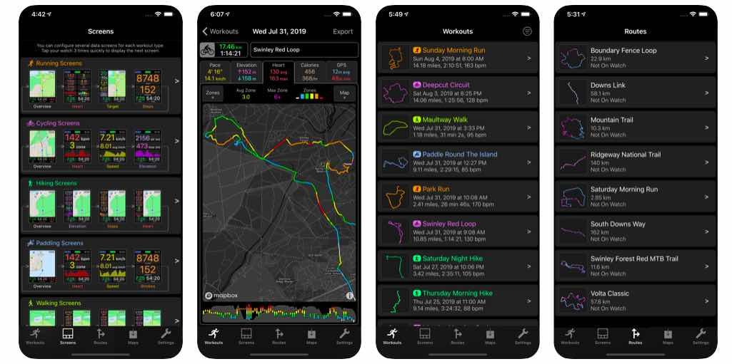 workoutdoors app