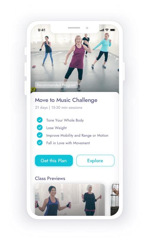 wysefit fitness app for seniors