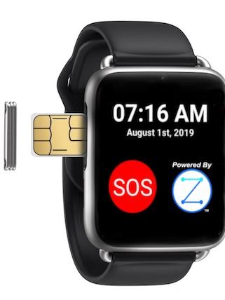 zanthion smartwatch for seniors